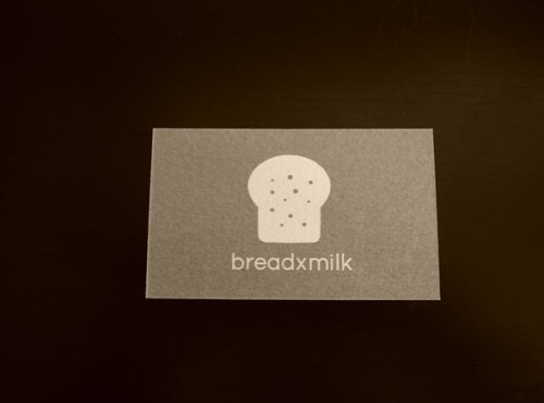 Breadxmilk Business Card