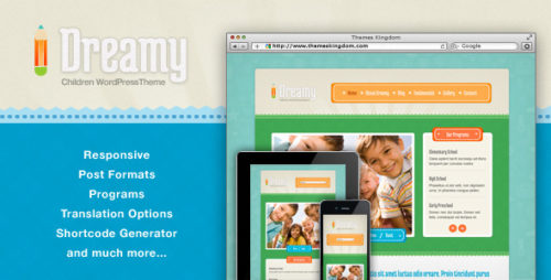 Dreamy Children WP Theme