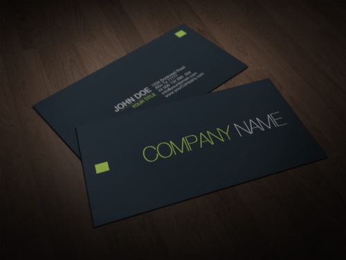 Elegant Minimal Business Card