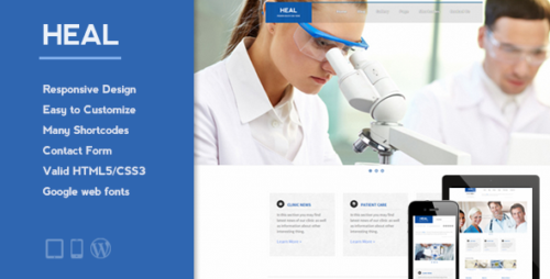HEAL - Medical WordPress Theme