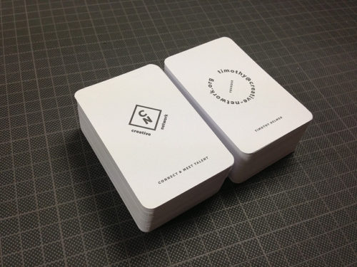 New Minimal Business Cards