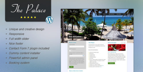The Palace - Business WordPress Theme