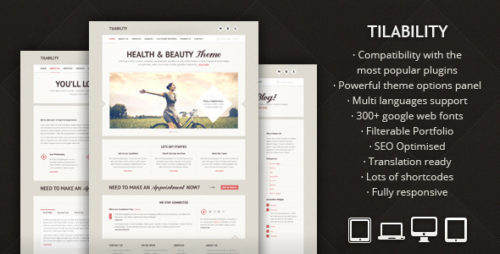 Tilability - Beauty WP Theme