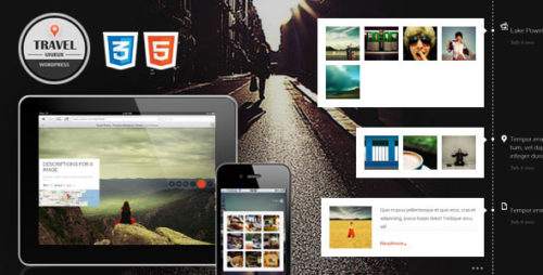 Travel Fullscreen WordPress Theme
