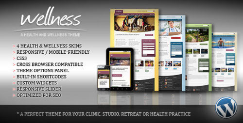Wellness - Health WordPress Theme