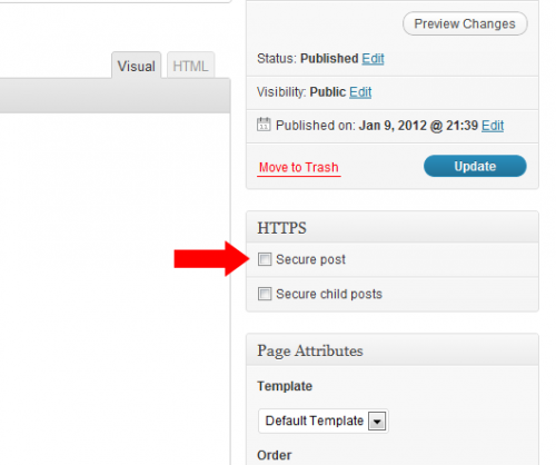 WordPress HTTPS (SSL)