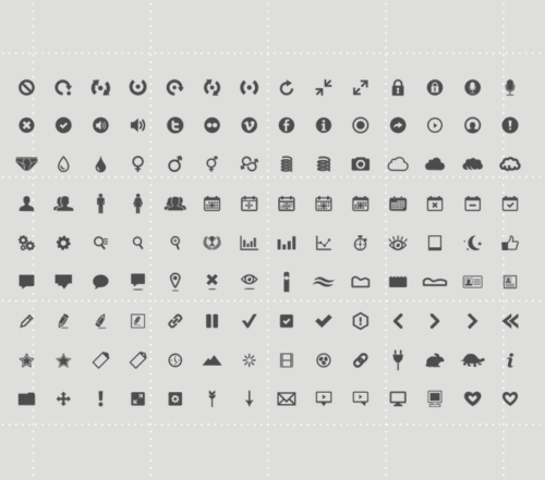 126 Free Icon Set for Download