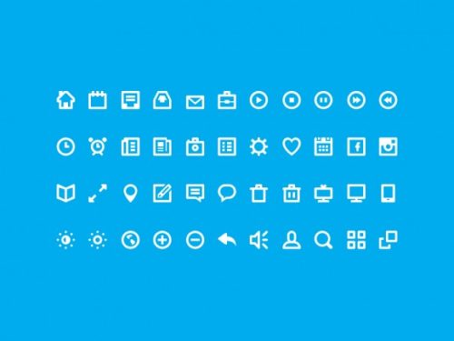 20+ Free PSD Icon Sets
