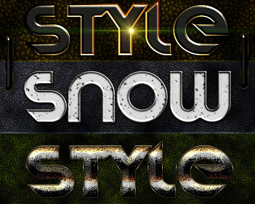 6 Styles Variety of Design