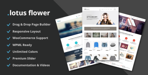Lotus Flower - Flexible Multi-Purpose Shop Theme