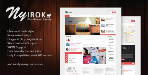 Nyirok - WooCommerce WordPress Theme