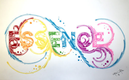 Essence Typography Design