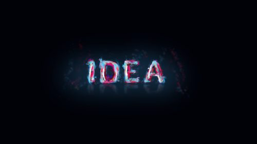 Idea - Speed Typography Art