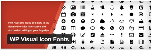 WP Visual Icon Fonts