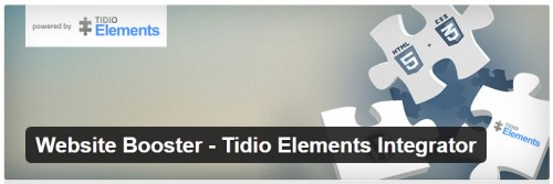 Website Booster - Tidio Elements Integrator