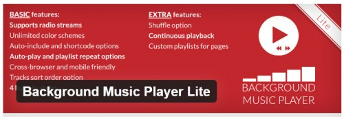 Background Music Player Lite