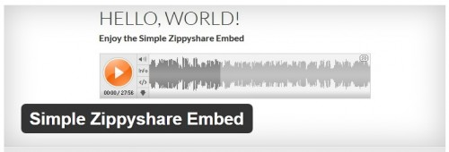 Simple Zippyshare Embed