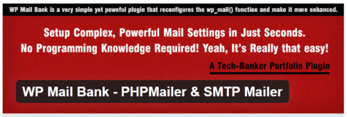WP Mail Bank - PHPMailer & SMTP Mailer