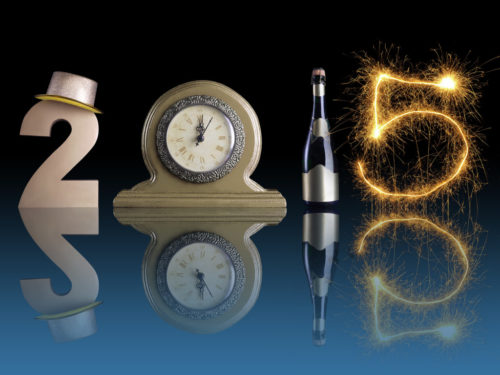 Awesome New Year 2015 Wallpaper