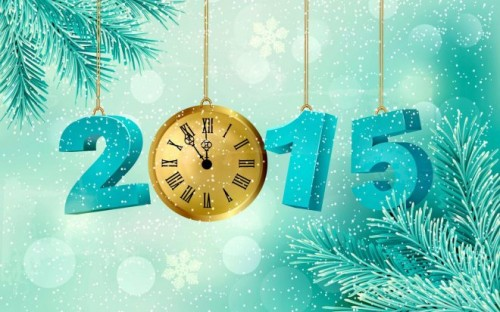 Dazzling 2015 Wallpaper for Happy New Year