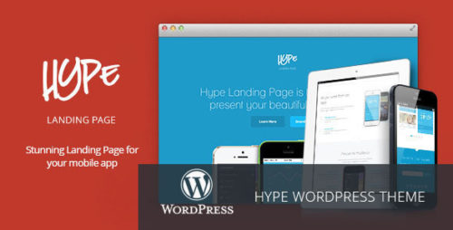 Hype - WordPress App Landing Page Theme