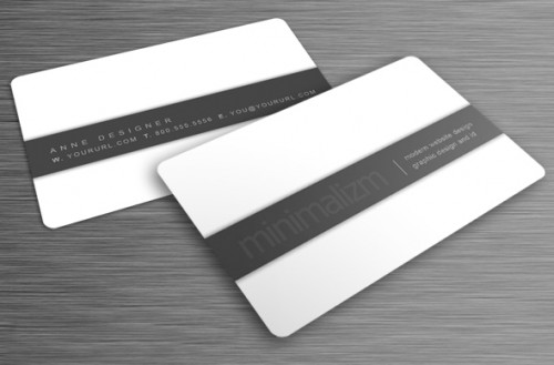 Minimalizm Business Card