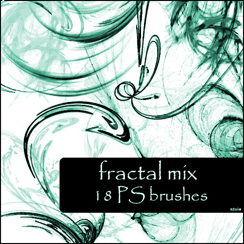 18 Fractal Mix Brushes