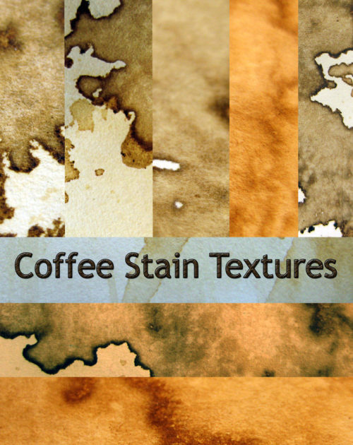6 Coffee Stained Textures