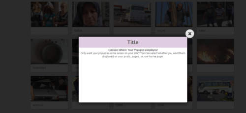 Milat jQuery Automatic Popup