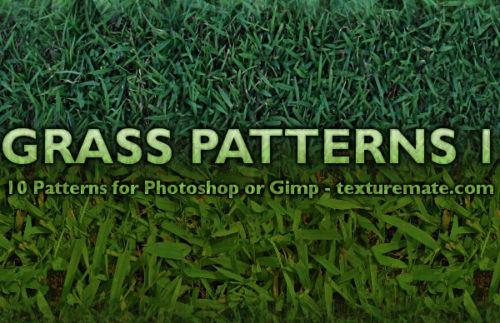 10 Free Grass Patterns