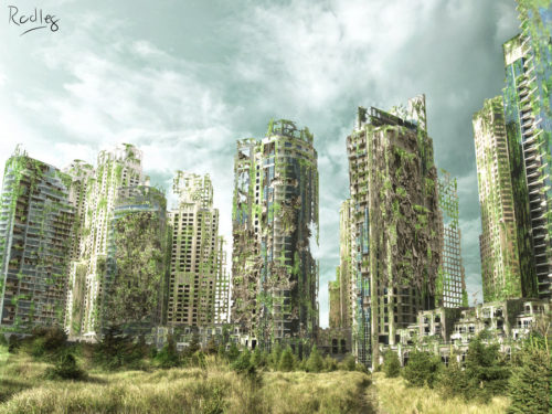 Matte-painting - Our Future