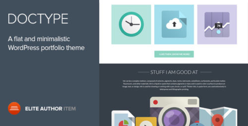 Doctype - Flat and Minimal Portfolio Theme