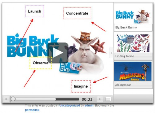 HTML5 Video Player with Playlist