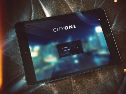 CityOne Log In
