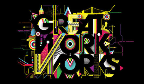 Fantastic Colorful Typography