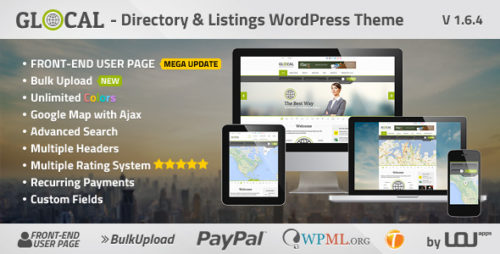 GLOCAL - Directory & Listings WP Theme