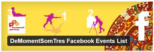 DeMomentSomTres Facebook Events List