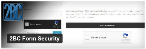 2BC Form Security