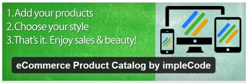 eCommerce Product Catalog