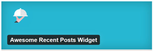 Awesome Recent Posts Widget