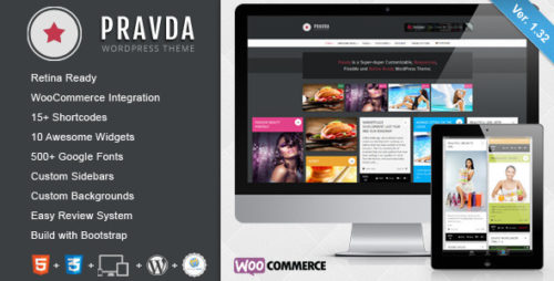 Pravda - Retina Responsive WordPress Blog Theme